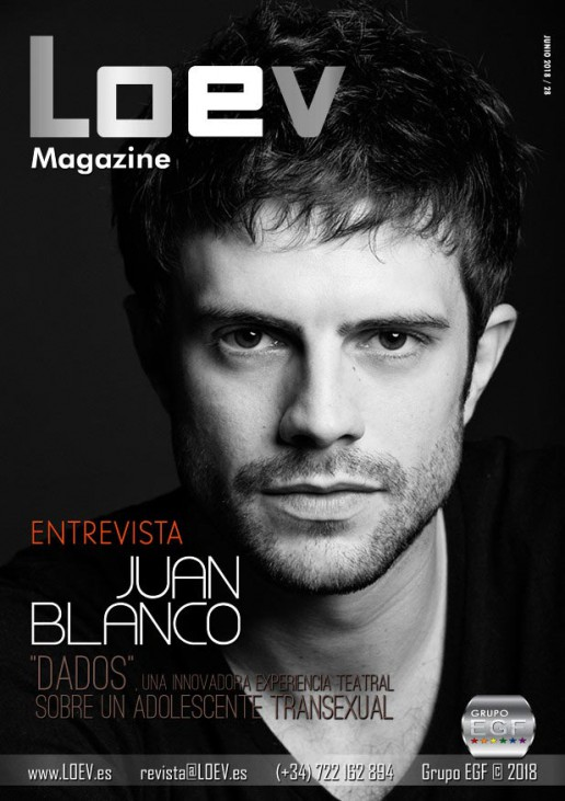 La revista gay LOEV entrevista al actor Juan Blanco