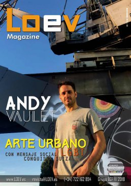 Andy Vaulet, revista gay Loev