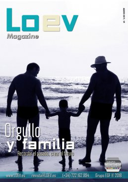 Revista gay LOEV magazine, orgullo y familia
